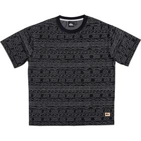 Quiksilver Heritage Camiseta Manga Corta Hombre, black tonal heritage
